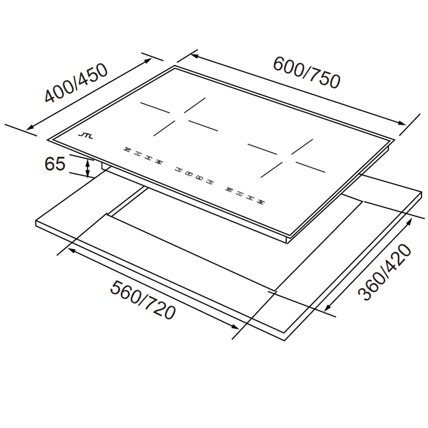 JT-IH238R/IH238/IH238XS IH微晶調理爐-JT-IH238R/IH238/IH238XS
